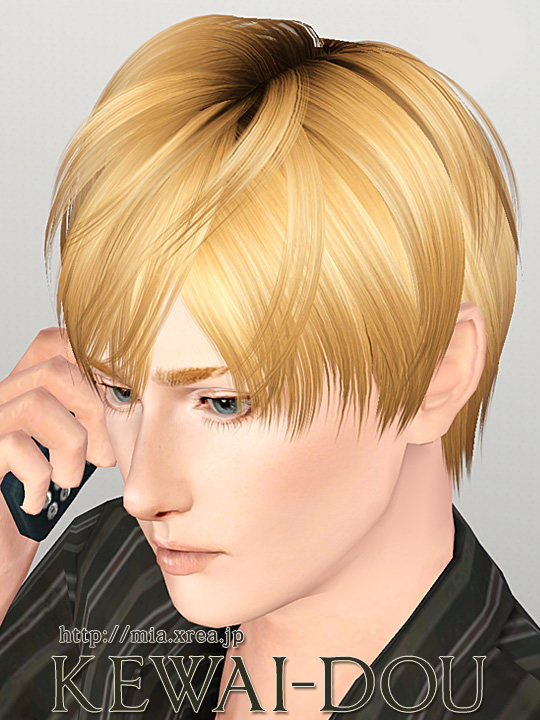 Mutsuki Hair For The Sims3 Kewai Dou