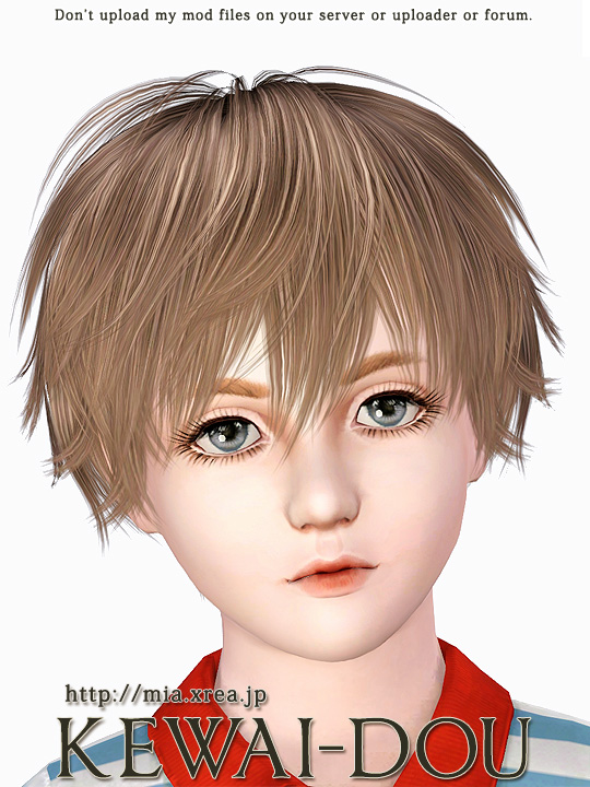 Super Kisaragi Hair For The Sims3 Kewai Dou Hairstyle Inspiration Daily Dogsangcom