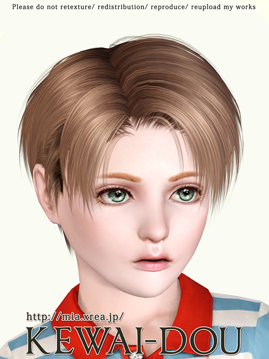 Levi Hair For The Sims3 Kewai Dou