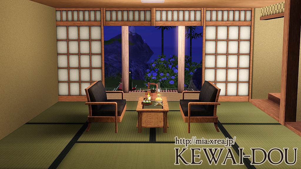 Japanese Tatami The Sims3 Object Kewai Dou