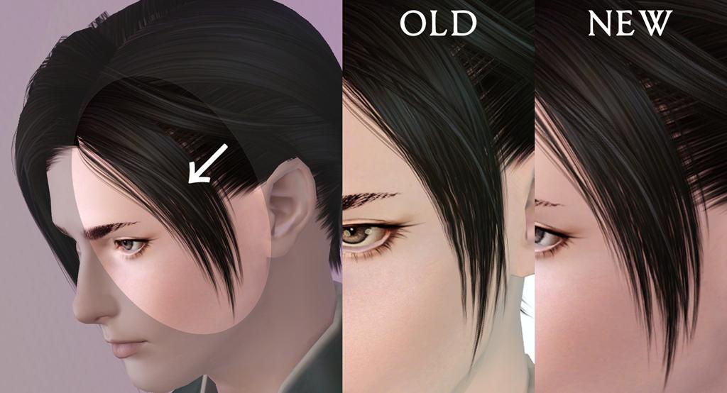 Annie L Hair For The Sims3 Kewai Dou