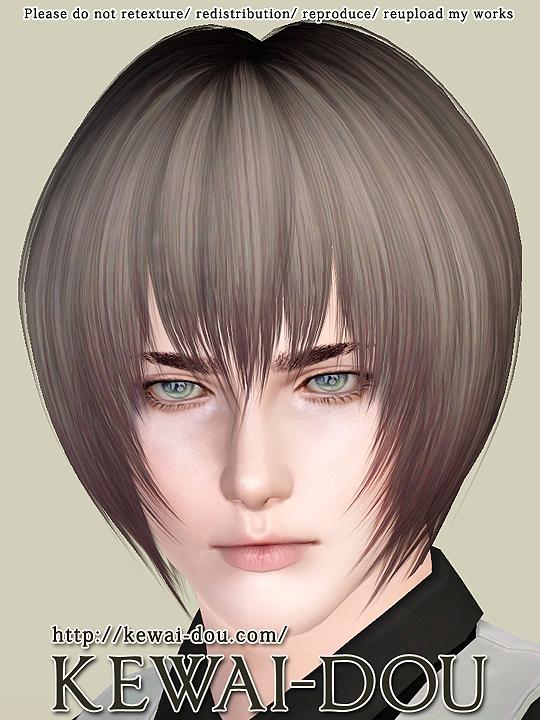 Leire Hair For The Sims3 Kewai Dou