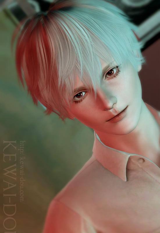 KEWAI-DOU シムズ3 エヴァンゲリオン「渚カヲル」1