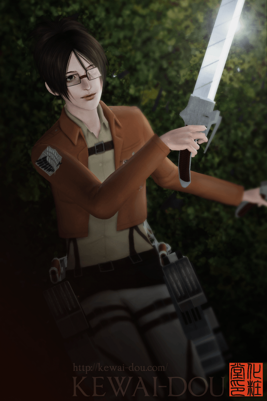"KEWAI-DOU Sims3 ""Hans Zoe from Attack on Titan"" 1"