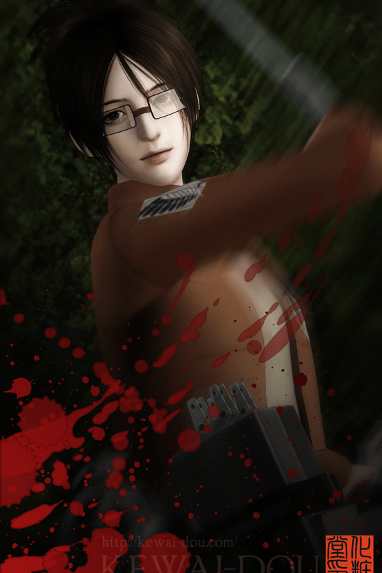 "KEWAI-DOU Sims3 ""Hans Zoe from Attack on Titan"" 2"