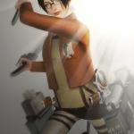 "KEWAI-DOU Sims3 ""Hans Zoe from Attack on Titan"" 3KEWAI-DOU シムズ3 進撃の巨人「ハンジ・ゾエ」3"