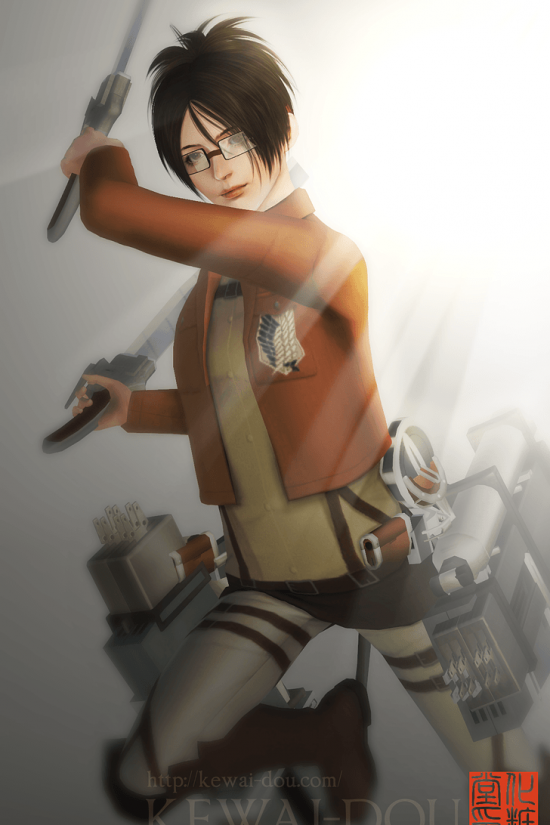 "KEWAI-DOU Sims3 ""Hans Zoe from Attack on Titan"" 3"