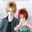 KEWAI-DOU Sims3 Sangrose hair for child and toddlerKEWAI-DOU ザ・シムズ3 髪型「Sangrose」子供・幼児用
