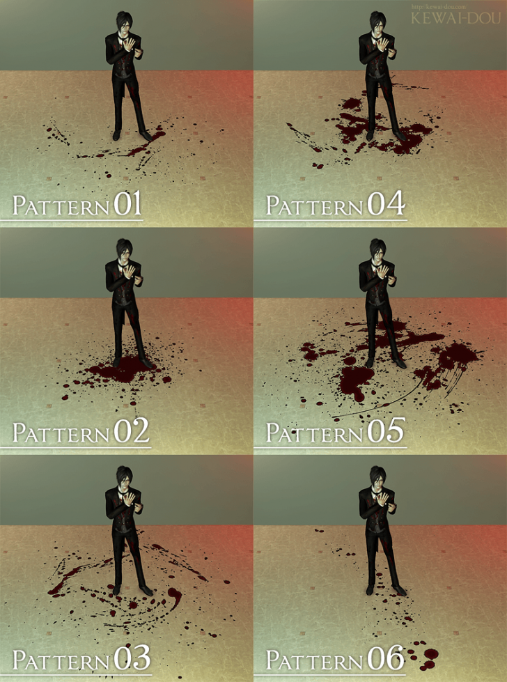 KEWAI-DOU_bloodyfloor_pattern