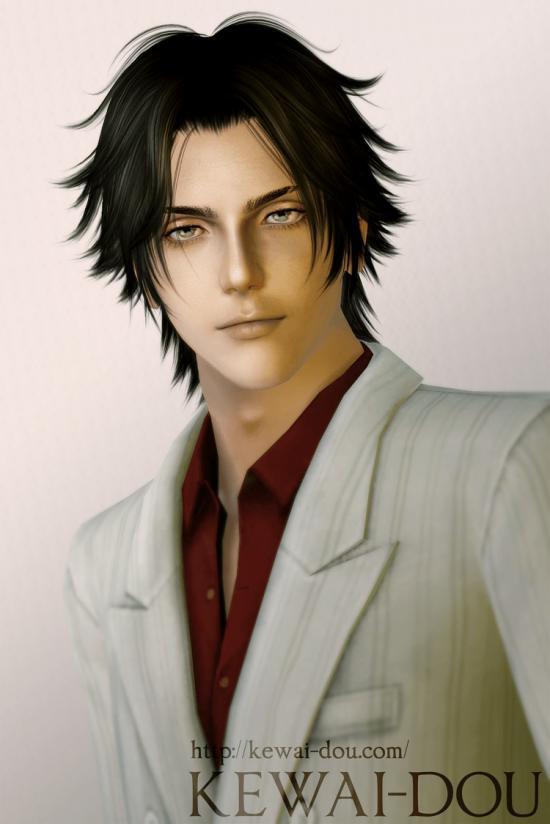 """KEWAI-DOU Sims3 """"Doctor Shamal from Katekyo Hitman Reborn!""""1"""