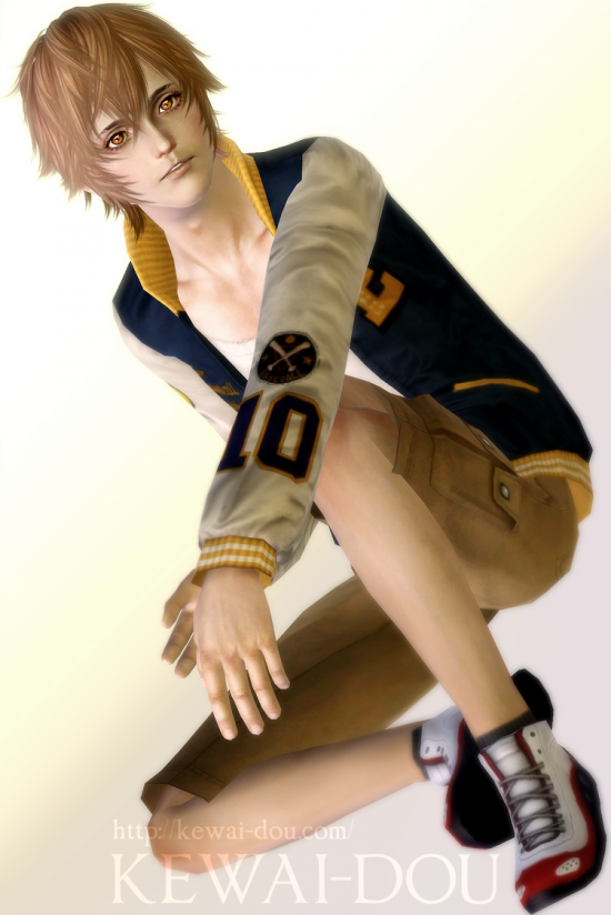 """KEWAI-DOU Sims3 """"Tsunayoshi Sawada from Katekyo Hitman Reborn!""""2"""