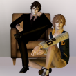 """KEWAI-DOU Sims3 """"Tsunayoshi Sawada & Kyoya Hibari from Katekyo Hitman Reborn!""""KEWAI-DOU シムズ3 家庭教師ヒットマンREBORN!「沢田綱吉&雲雀恭弥」"""