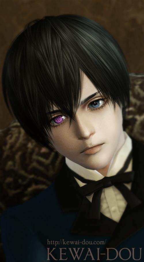 "KEWAI-DOU Sims3 ""Ciel Phantomhive from Kuroshitsuji""4"
