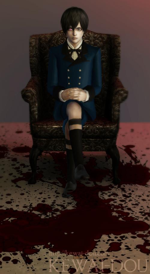 "KEWAI-DOU Sims3 ""Ciel Phantomhive from Kuroshitsuji""1"