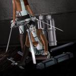 """KEWAI-DOU Sims3 """"Mikasa & Levi from Attack on Titan""""KEWAI-DOU シムズ3 進撃の巨人「ミカサとリヴァイ」"""