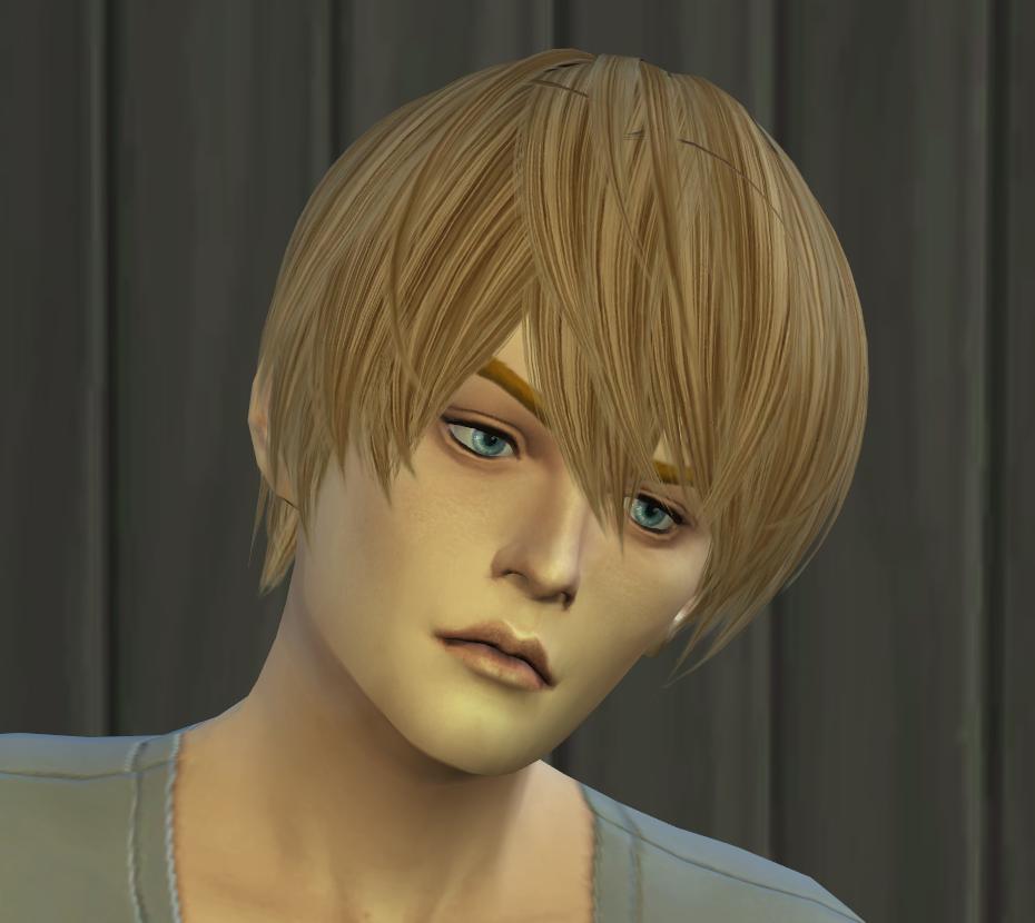 Hair Test Convert For The Sims4 Kewai Dou