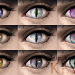 Cat's eyes (The Sims4 Eyecolor)