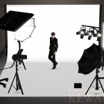 Photo studio sets (The Sims3 Object)
