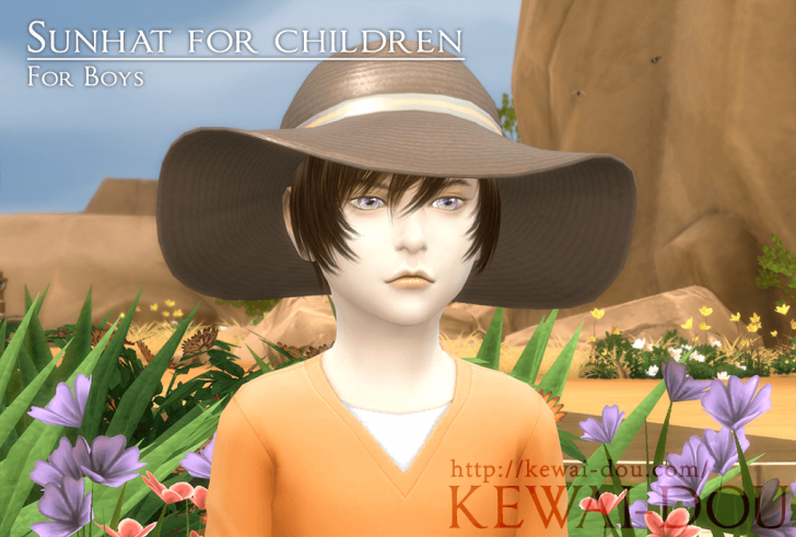 KEWAI-DOU_sunhat_for_boys